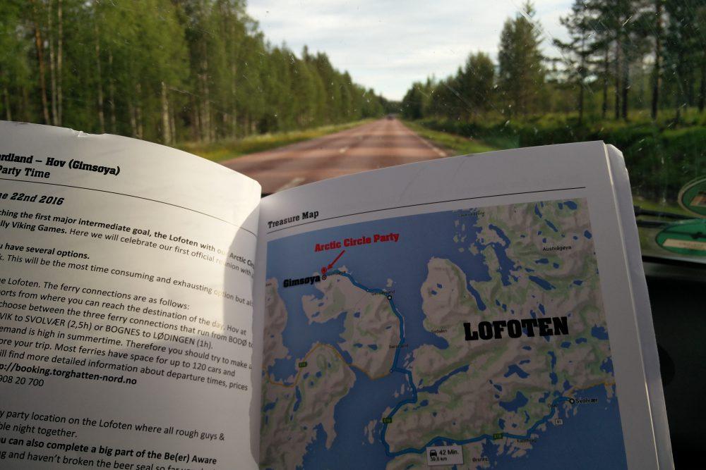 800km to go … die letzte Etappe bis zu den Lofoten und der Rallye-Party - CO2mpensio
